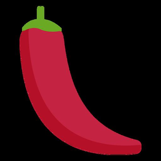 Red chilli vegetable flat Transparent PNG