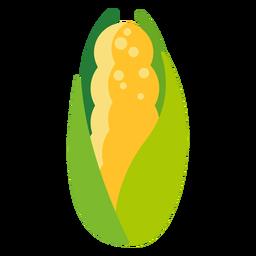 Plano de vegetales de maíz dulce