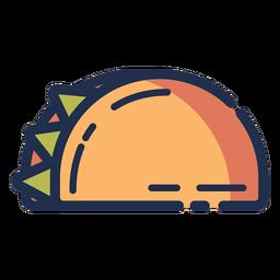 Taco icono taco