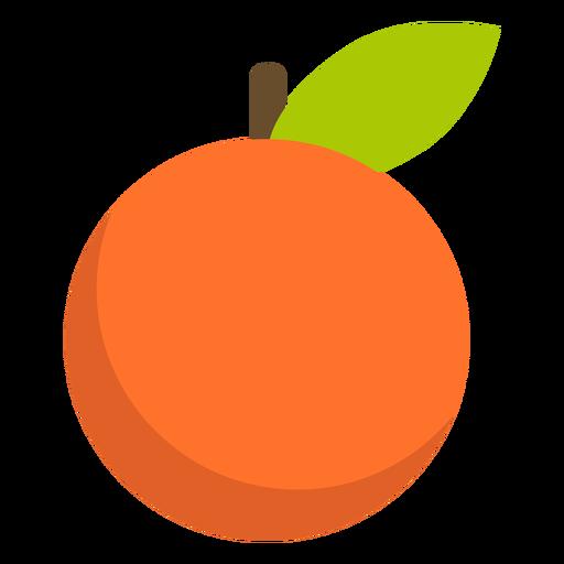 Tangerine fruit flat Transparent PNG