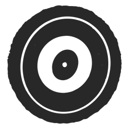 Target circles three circles icon