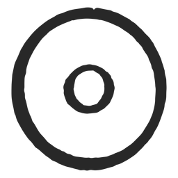 Target circles two circles neat icon