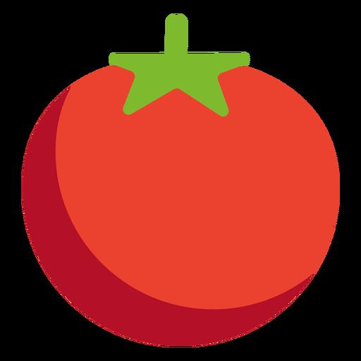 Tomate vegetal plano Transparent PNG