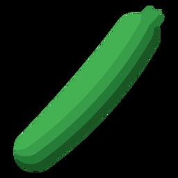 Plato de calabacín vegetal