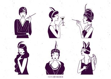 Charleston Woman Design Pack