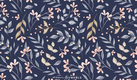 Design de padrão de folhas de primavera