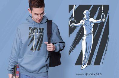 Eisernes Kreuz Turner T-Shirt Design
