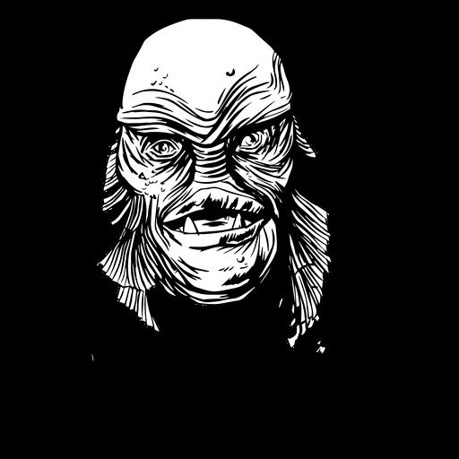 Criatura laguna negra Transparent PNG