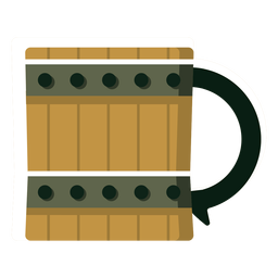 Barrel mug beer