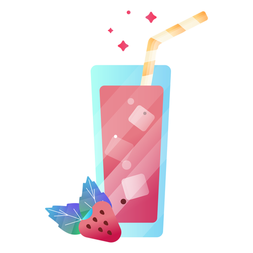 Berry juice illustration strawberry Transparent PNG