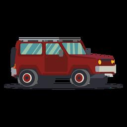 Ilustración de jeep grande