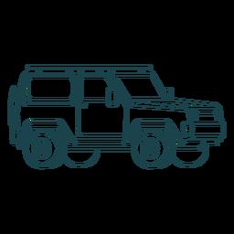 Big jeep stroke