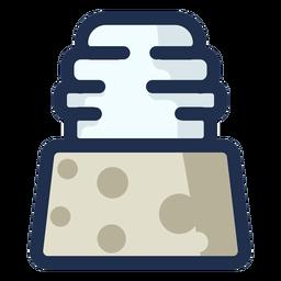 Icono de postre de pastel