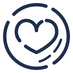 Cappucino heart icon