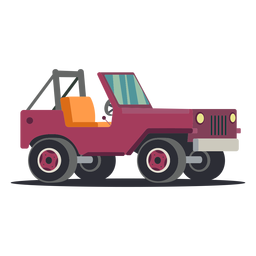 Car illustration jeep