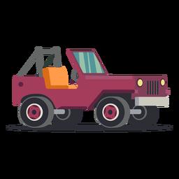 Jipe de ilustração de carro