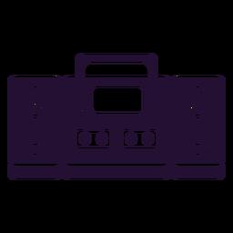 Cassette player 90s