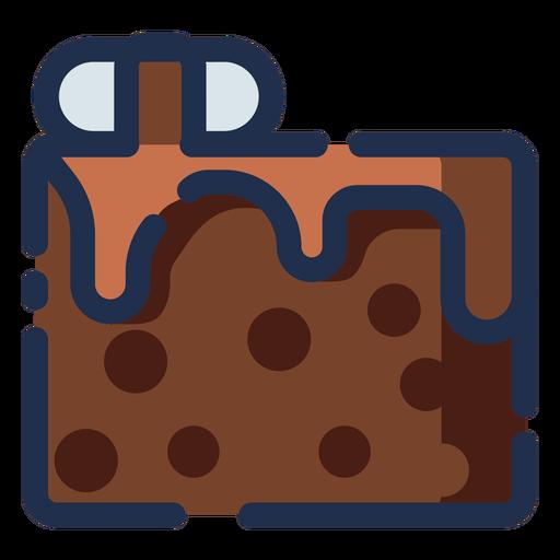 Schokokuchen-Symbol Transparent PNG