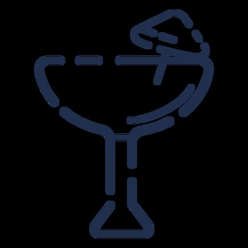 Icono de copa de cóctel Transparent PNG
