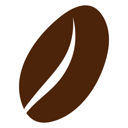Coffee bean brown Transparent PNG