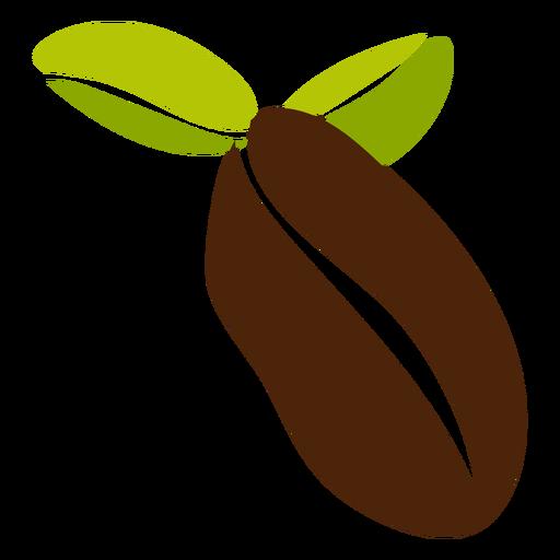 Diseño de granos de café Transparent PNG