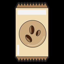 Paquete de granos de café