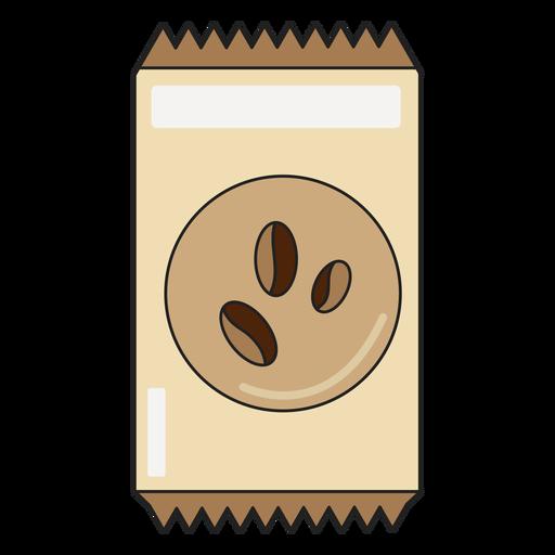 Paquete de granos de café Transparent PNG
