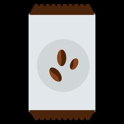 Pacote de grãos de café