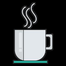 Icono de bebida de café