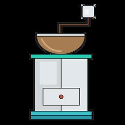 Cafetera de icono de máquina de café
