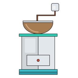 Coffee machine icon cafe