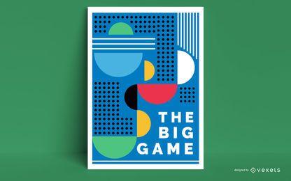 Künstlerisches Tokyo 2020 Plakatdesign