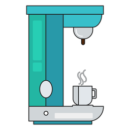 Cafeteira ícone café