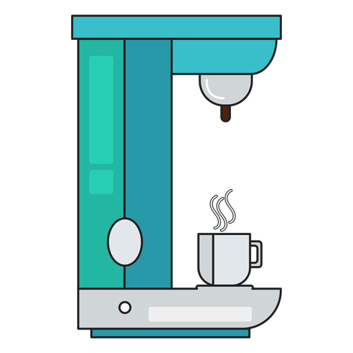Coffee maker icon cafe