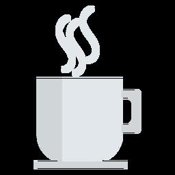 Icono de café monótono