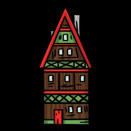 Casa colorida alemanha
