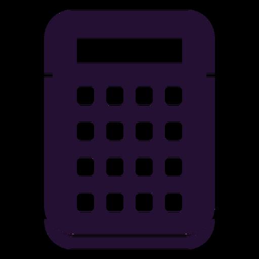 Cool 90s calculator Transparent PNG