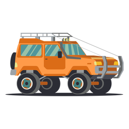 Cool illustration jeep