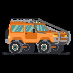 Ilustración genial jeep