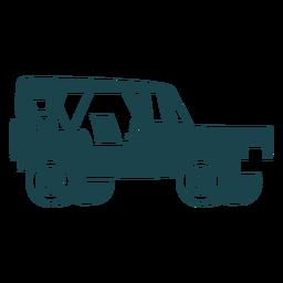 Cool jeep flat