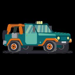 Kühle Jeepillustration