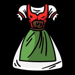 Nette Deutschland-Kleidung