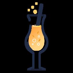 Cute glass drink
