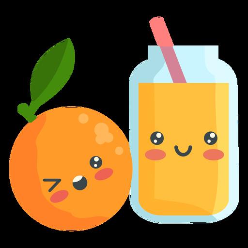 Lindo jugo de naranja Transparent PNG