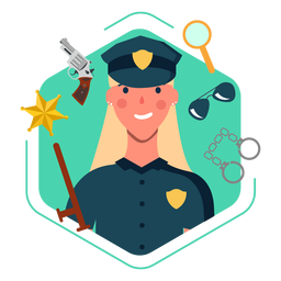 Elementos de policial fofa
