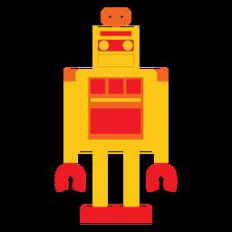Cute robot flat
