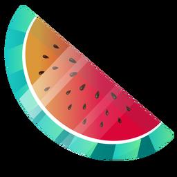 Nette Wassermelonenillustration