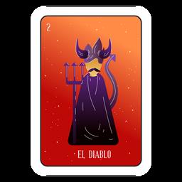Loteria de cartas do diabo
