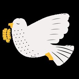 Ilustración de la paz de la paloma
