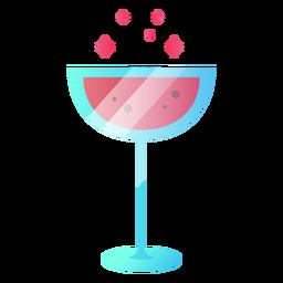 Beber copa de vino ilustración
